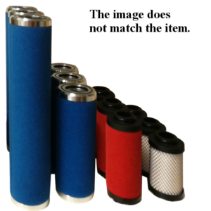 Wkłady filtracyjne serii Compair CF